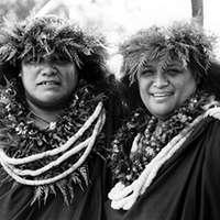 Link to Pualani Kanaka'ole Kanahele and Nalani Kanaka'ole