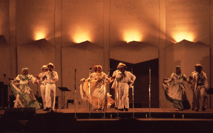 Rafael Cepeda and Familia Cepeda, 1980,  photograph by Marco Kalisch, courtesy National Endowment for the Arts