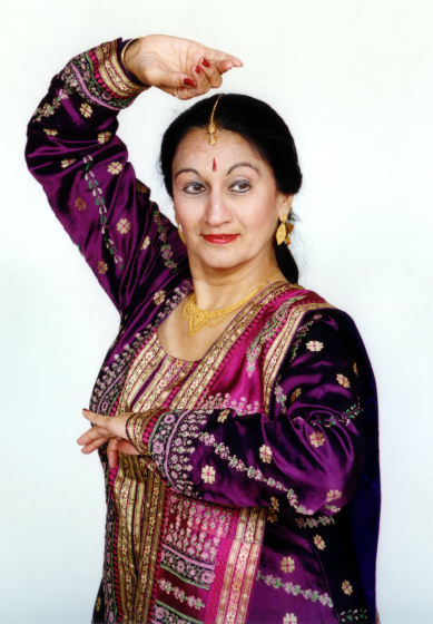"Anjani Ambegaokar has trained hundreds of dancers and staged performances around the world since emigrating from India to the U.S. in 1967. As a choreographer, she has not been afraid to expand the traditional repertoire. ""Whatever feels really, really right in my heart is what I decide to do,"" she says. Courtesy National Endowment for the Arts"