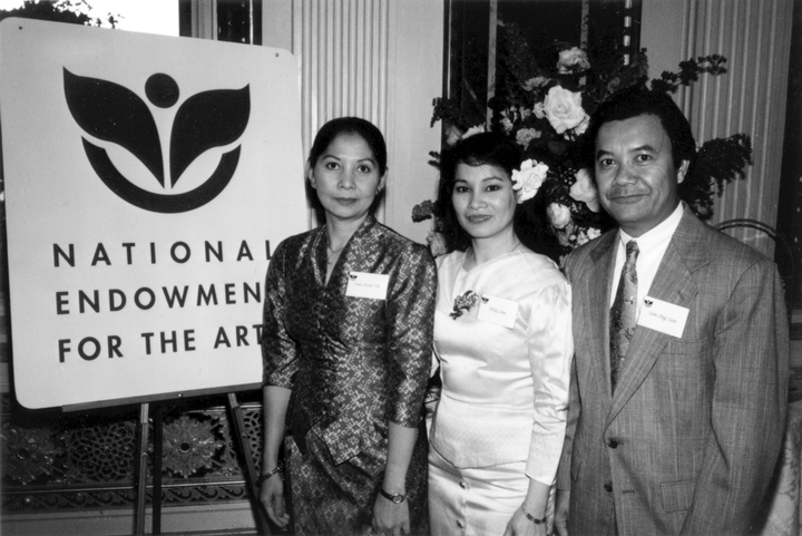 Apsara Ensemble, 1998 National Heritage Fellowship Ceremonies, courtesy National Endowment for the Arts