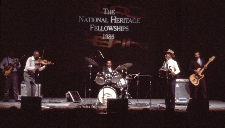 1986 National Heritage Fellowship Ceremonies, courtesy National Endowment for the Arts