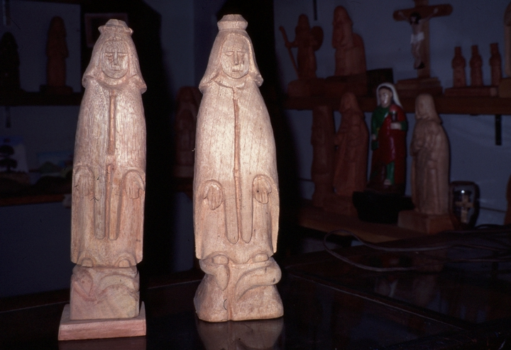 *Santos* figures carved by Celestino Avilés, courtesy National Endowment for the Arts
