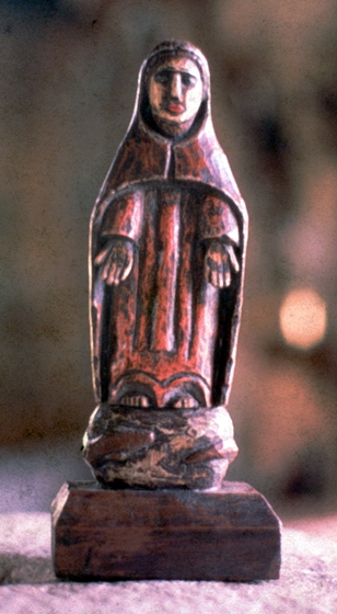 *Santos* figure carved by Celestino Avilés, courtesy National Endowment for the Arts