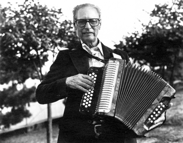 "Pedro Ayala was a pioneer in the development of the *conjunto* style of Texas-Mexican music. He was popular among migrant workers in Texas, who called him ""El Monarca del Accordeon"" (""Monarch of the Accordion""). Courtesy National Endowment for the Arts"