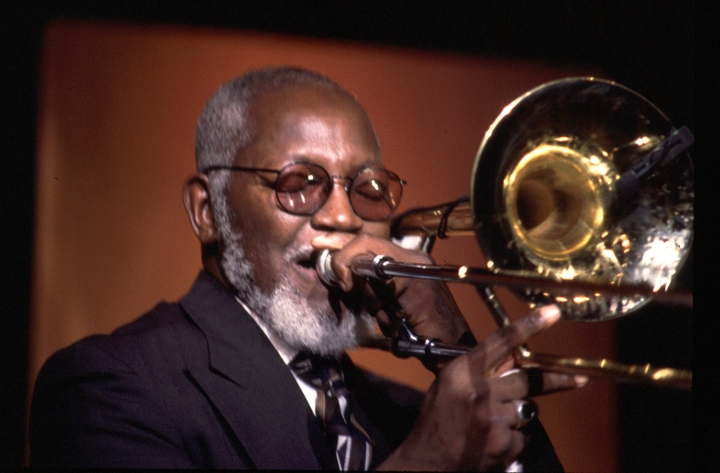 Edward Babb, 1997 National Heritage Fellowship Concert, courtesy National Endowment for the Arts