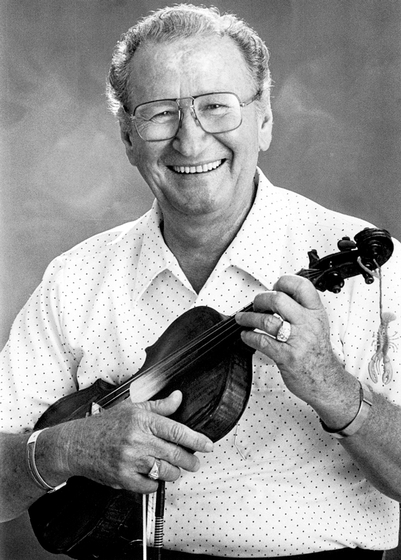 "Cajun fiddler Dewey Balfa described the power of his music: ""There's a lot of loneliness and a lot of hurt in Cajun fiddling in spite of the fact that the rhythm is uptempo."" Photograph by Robert Barclay, courtesy National Endowment for the Arts"