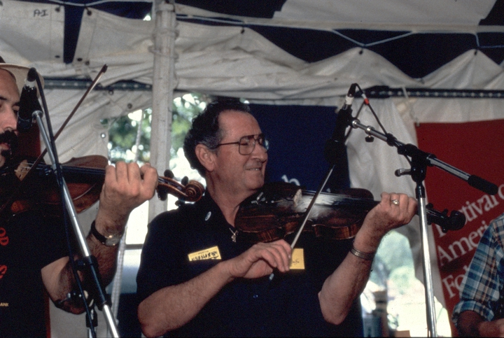 Dewey Balfa, 1994 Festival of American Folklife, courtesy Ralph Rinzler Folklife Archives and Collections, Center for Folklife and Cultural Heritage, Smithsonian Institution