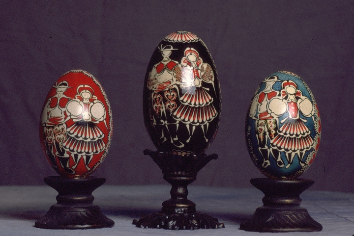 *Kraslice*, Czech decorated eggs by Kepka Belton, courtesy National Endowment for the Arts