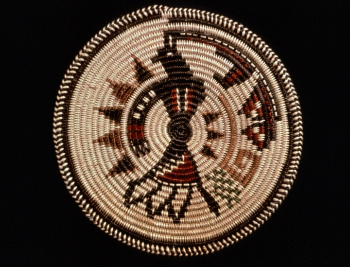 Basket by Mary Holiday Black,  photograph by Carol Edison, courtesy Utah Arts Council