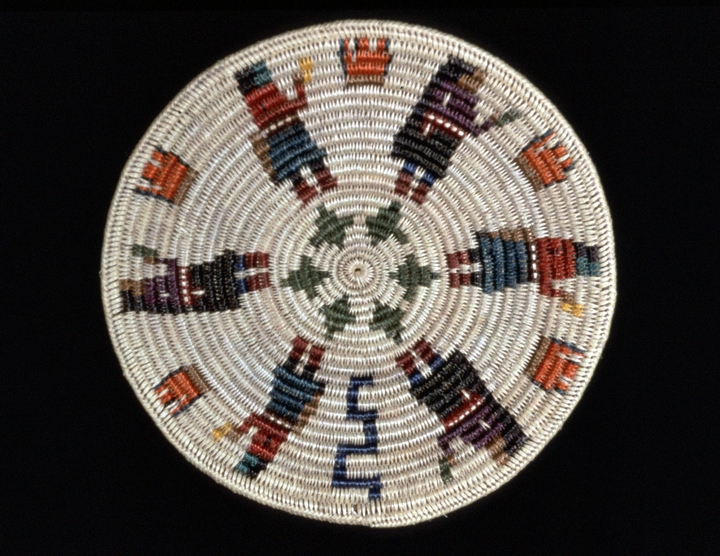 Fire Dance basket by Mary Holiday Black,  photograph by Carol Edison, courtesy Utah Arts Council