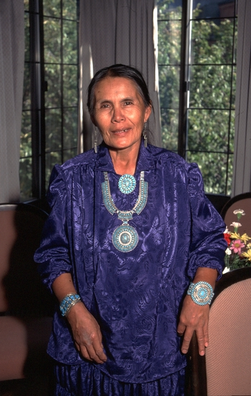 Mary Holiday Black. 1995 National Heritage Fellowship Ceremonies, photograph by James V. Gleason, courtesy National Endowment for the Arts
