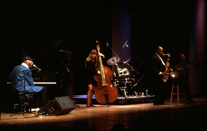 Charles Brown, 1997 National Heritage Fellowship Concert, Washington, D.C., courtesy National Endowment for the Arts