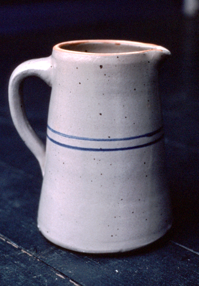 Pitcher by Jerry Brown, Brown Pottery, Hamilton, Alabama, ca. late 1980s, photograph by Joey Brackner, courtesy Alabama State Council on the Arts