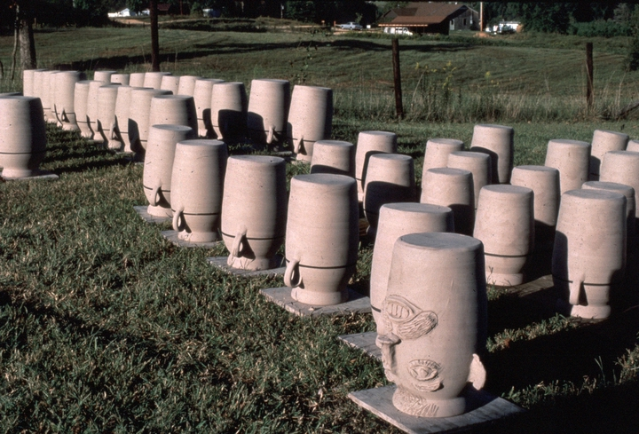Brown Pottery, Hamilton, Alabama, ca. late 1980s, photograph by Joey Brackner, courtesy Alabama State Council on the Arts