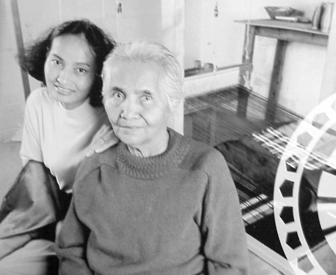 Em Bun and her daughter, Pech Yuos, Harrisburg, Pennsylvania, photograph by Jane Levine, courtesy Pennyslvania Heritage Affairs Commission and National Endowment for the Arts