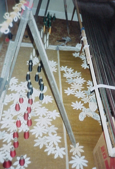 Loom (detail) of Bun Em, Harrisburg, Pennsylvania, photograph by Joanna Roe, courtesy National Endowment for the Arts