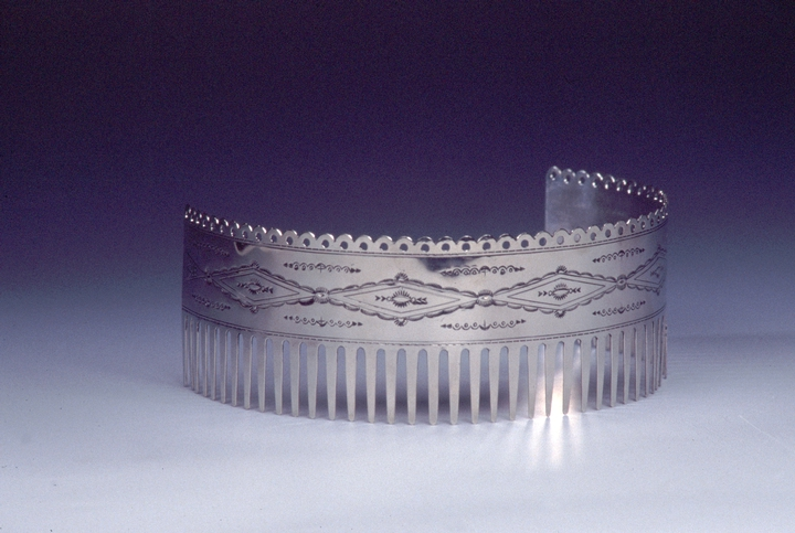 Silverwork by Bruce Caesar, photograph by Sandy Settle, courtesy National Endowment for the Arts
