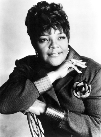 "Shirley Caesar, known as ""the First Lady of Gospel,"" began performing as a child to help support her family. She developed a powerful, distinctive singing style. ""I am called to be a preacher-evangelist first,"" she says, ""and a singer, second."" Courtesy Word, Inc"