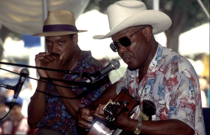 Phil Wiggins and John Cephas, 1994 Festival of American Folklife, courtesy Ralph Rinzler Folklife Archives and Collections, Center for Folklife and Cultural Heritage, Smithsonian Institution