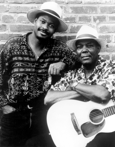 Phil Wiggins and John Cephas, courtesy National Endowment for the Arts