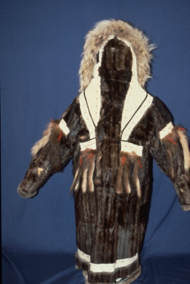 Traditional Yup'ik craftwork by Nicholas and Elena Charles, photograph by Nicholas Charles, Jr., courtesy National Endowment for the Arts and Alaska State Council on the Arts
