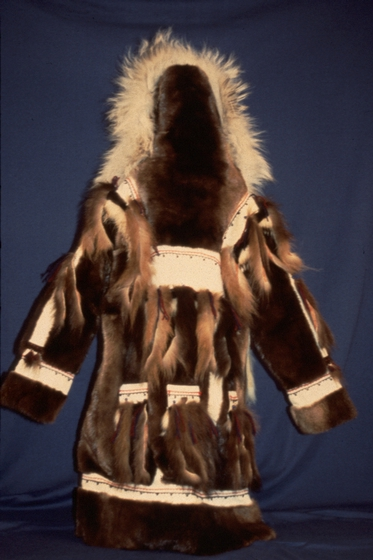 Traditional Yup'ik craftwork by Elena Charles, photograph by Nicholas Charles, Jr., courtesy National Endowment for the Arts