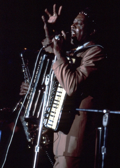 Clifton Chenier, New Orleans, Louisiana, 1979, photograph by Michael P. Smith