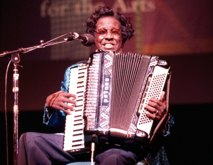 Clfiton Chenier, 1984 National Heritage Fellowship Ceremonies, Courtesy National Endowment for the Arts