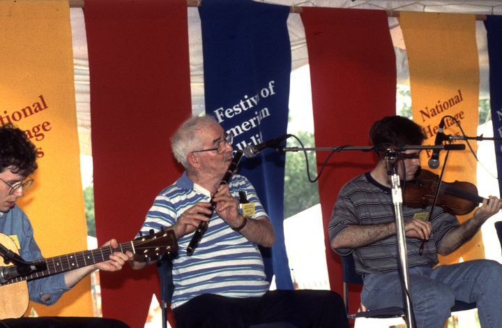 Jack Coen and friends, 1994 Festival of American Folklife, courtesy Ralph Rinzler Folklife Archives and Collections, Center for Folklife and Cultural Heritage, Smithsonian Institution