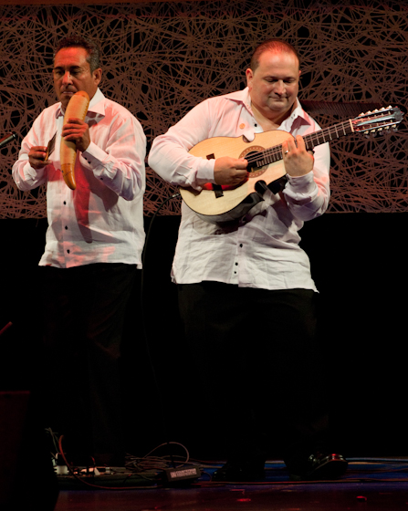 Edward Colón Zayas and his ensemble, 2009 National Heritage Fellowship Concert, Bethesda, Maryland, photograph by Alan Hatchett
