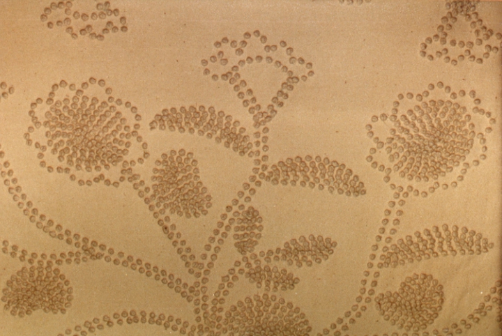 Kotted bedspread (detail) by Bertha Cook, courtesy National Endowment for the Arts