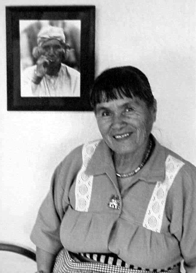 Helen Cordero, photograph by Dudley Smith, courtesy Denver Museum of Natural History