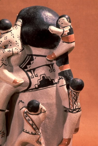Storyteller, painted earthenware by Helen Cordero, courtesy National Endowment for the Arts