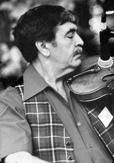 Joseph Cormier, photograph by Jack Putnam, courtesy National Council for the Traditional Arts
