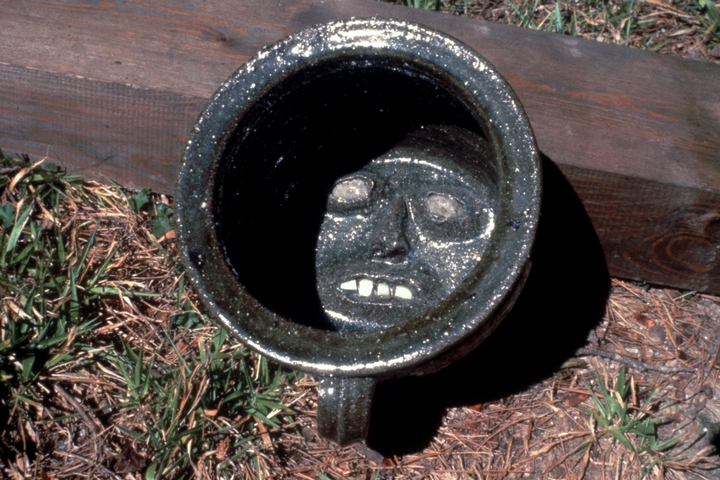 Face mug by Burlon Craig, Vale, North Carolina, photograph by Charles G. Zug III, courtesy North Carolina Arts Council, Folklife Program