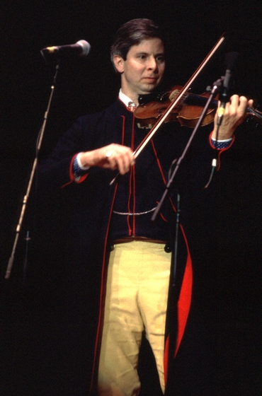 Paul Dahlin performing at the 1996 National Heritage Fellowship Concert, courtesy National Endowment for the Arts