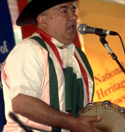 Franco Cofone, 1994 Festival of American Folklife, courtesy Ralph Rinzler Folklife Archives and Collections, Center for Folklife and Cultural Heritage, Smithsonian Institution