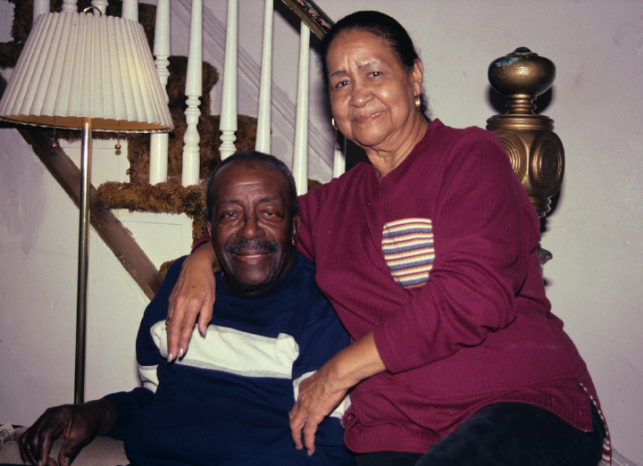 Ira Tucker and his wife, Philadelphia, Pennsylvania, 2001, photograph by Alan Govenar