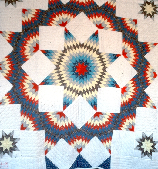 'Star Quilt' by Nora Ezell, photograph by Joey Brackner, courtesy Alabama State Council on the Arts
