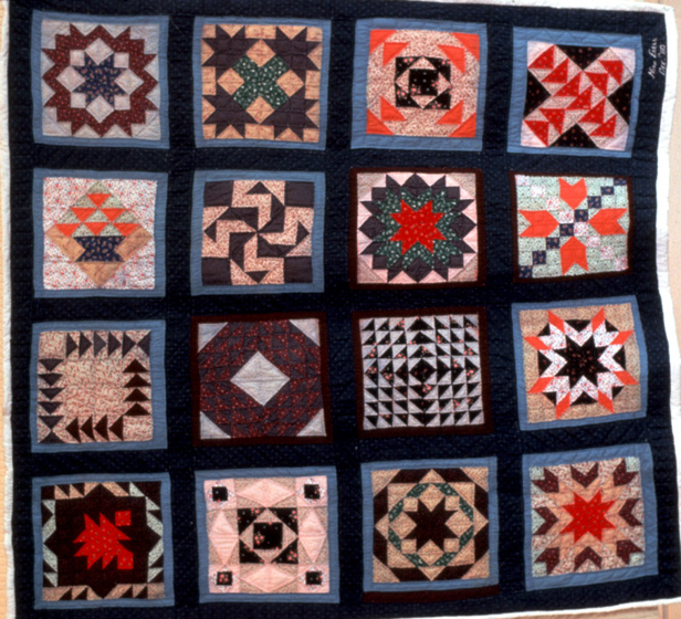 'Sampler Blocks Quilt' by Nora Ezell,  photograph by Joey Brackner, courtesy Alabama State Council on the Arts