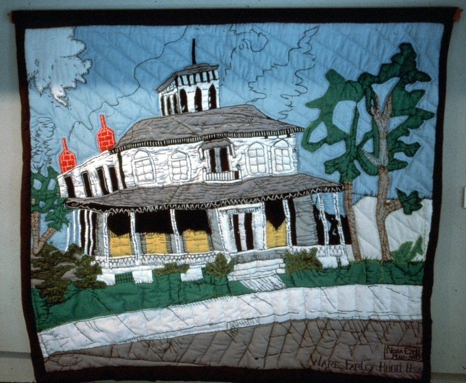 'Ware-Farley-Hood House Quilt' by Nora Ezell, courtesy Alabama Center for Traditional Culture