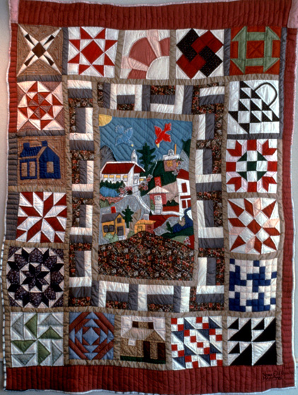 Quilt by Nora Ezell,  photograph by Joey Brackner, courtesy Alabama State Council on the Arts