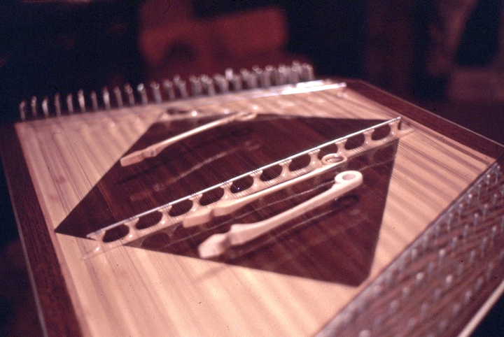Hammered dulcimer by Albert Fahlbusch, courtesy National Endowment for the Arts