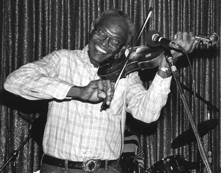 Canray Fontenot, 1988, photograph by Jack Vartoogian