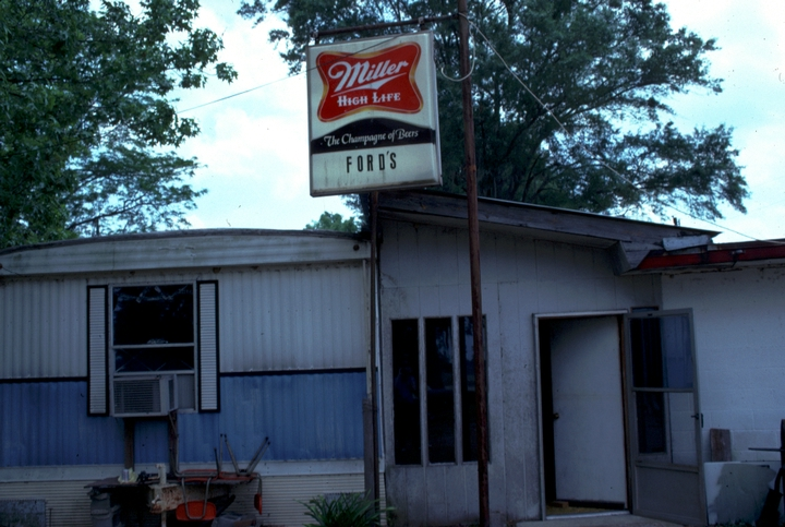 Thomas Edison 'Brownie' Ford's store, Hebert, Louisiana, 1990, photograph by Alan Govenar