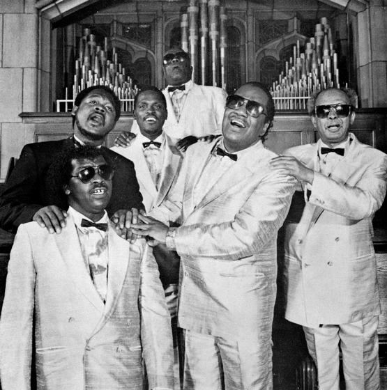 Clarence Fountain and the Blind Boys, Courtesy National Endowment for the Arts