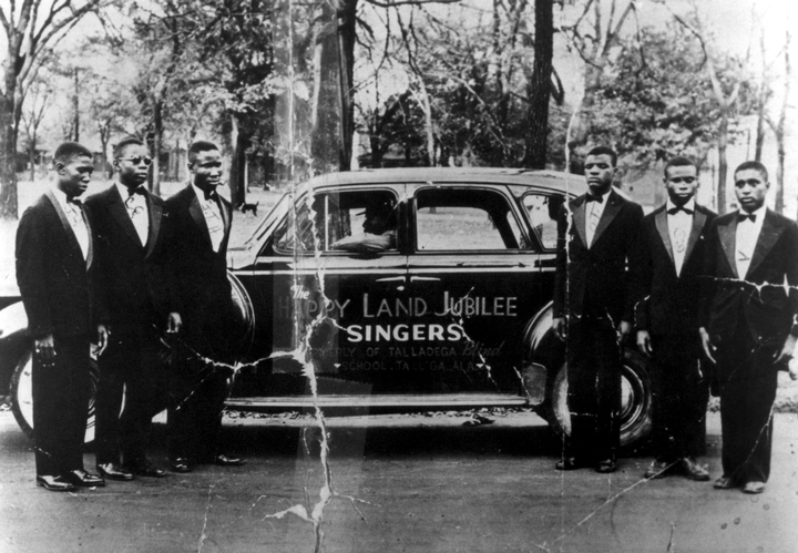 Clarence Fountain and the Blind Boys, ca. 1940s, Courtesy National Endowment for the Arts