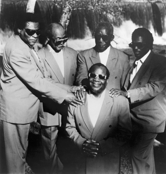Clarence Fountain and the Blind Boys, Photograph by Michael P. Smith, Courtesy National Endowment for the Arts
