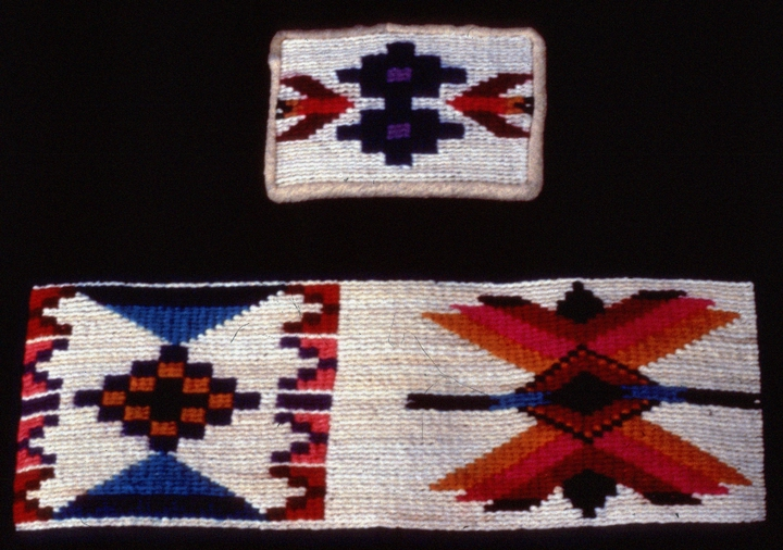 Cornhusk weavings by Rose Frank, courtesy National Endowment for the Arts