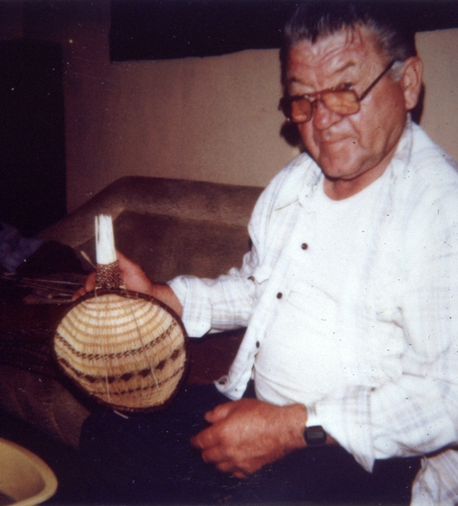 Western Mono seed basket by Ulysses 'Uly' Goode, photograph by Ron Goode, courtesy National Endowment for the Arts